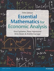 Essential Mathematics for Economic Analysis, 5/e (Paperback)-cover