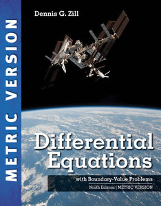 Differential Equations with Boundary-Value Problems, 9/e (Metric Edition)(IE-Paperback)-cover