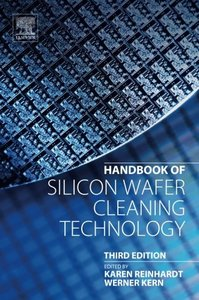 Handbook of Silicon Wafer Cleaning Technology, Third Edition-cover
