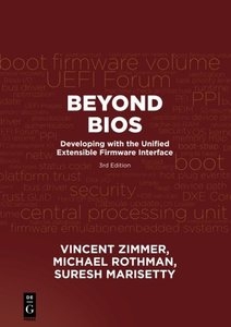 Beyond BIOS: Developing with the Unified Extensible Firmware Interface, Third Edition-cover