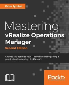 Mastering vRealize Operations Manager - Second Edition-cover