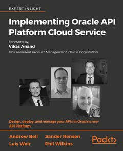Implementing Oracle API Platform Cloud Service-cover