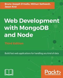 Web Development with MongoDB and Node - Third Edition-cover