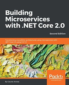 Building Microservices with .NET Core 2.0 - Second Edition-cover