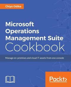 Microsoft Operations Management Suite Cookbook-cover