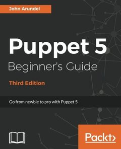 Puppet 5 Beginner's Guide - Third Edition-cover