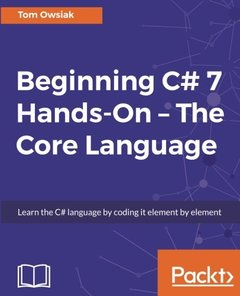 Beginning C# Hands-On – The Core Language-cover