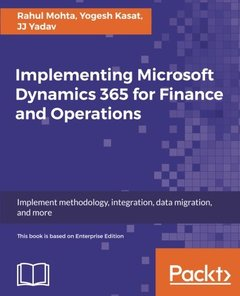Implementing Microsoft Dynamics 365 for Finance and Operations-cover