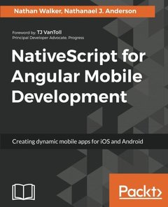 NativeScript for Angular Mobile Development-cover