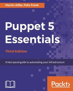 Puppet 5 Essentials Third Edition-cover
