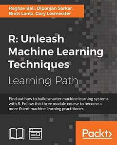 R: Unleash Machine Learning Techniques-cover