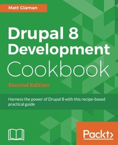 Drupal 8 Development Cookbook - Second Edition-cover