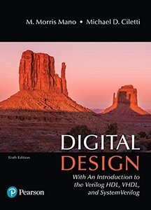 Digital Design: With an Introduction to the Verilog HDL, VHDL, and SystemVerilog (6th Edition)-cover