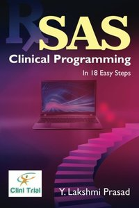 SAS Clinical Programming: In 18 Easy Steps-cover
