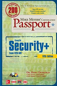 Mike Meyers' CompTIA Security+ Certification Passport, Fifth Edition  (Exam SY0-501)-cover