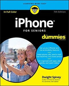 iPhone For Seniors For Dummies (For Dummies (Computer/Tech))-cover