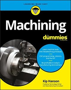 Machining For Dummies (For Dummies (Computer/Tech))-cover