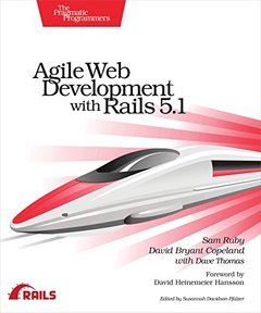 Agile Web Development with Rails 5.1-cover
