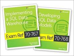 MCSA SQL 2016 BI Development Exam Ref 2-pack: Exam Refs 70-767 and 70-768-cover