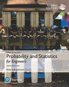 Miller & Freund's Probability & Statistics for Engineers, 9/e (Paperback)-cover