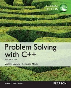 Problem Solving with C++, 9/e (IE-Paperback)-cover