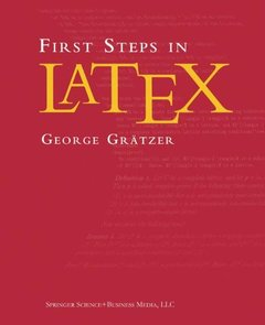 First Steps in LaTeX