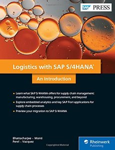 Simple Logistics with SAP S/4HANA: An Introduction (SAP PRESS)-cover