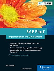 SAP Fiori Implementation and Development (2nd Edition) (SAP PRESS)-cover