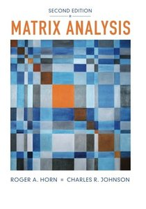 Matrix Analysis (Paperback)-cover