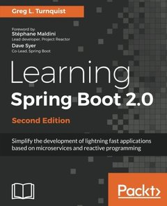 Learning Spring Boot 2.0 - Second Edition-cover