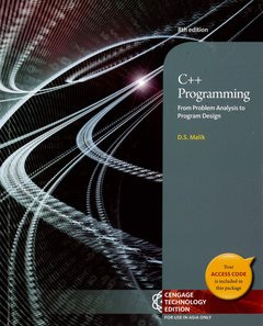 C++ Programming: From Problem Analysis to Program Design, 8/e (Paperback)-cover