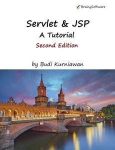Servlet & JSP: A Tutorial, Second Edition-cover