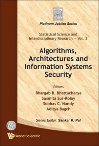 ALGORITHMS, ARCHITECTURES AND INFORMATION SYSTEMS SECURITY-cover