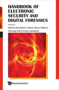HANDBOOK OF ELECTRONIC SECURITY AND DIGITAL FORENSICS-cover