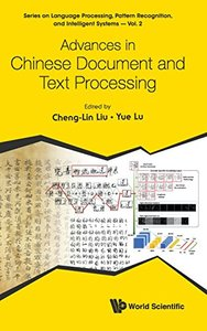 ADVANCES IN CHINESE DOCUMENT AND TEXT PROCESSING-cover