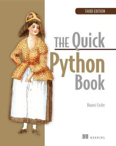 The Quick Python Book, 3/e (DHL)-cover