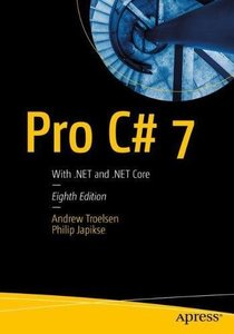 Pro C# 7: With .NET and .NET Core-cover