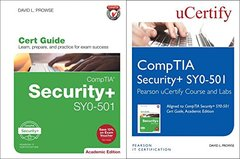 CompTIA Security+ SY0-501 Pearson uCertify Course and Labs and Textbook Bundle (2nd Edition) (Certification Guide)-cover
