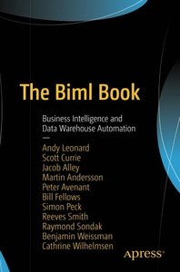 The Biml Book: Business Intelligence and Data Warehouse Automation-cover