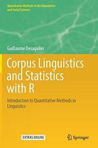 Corpus Linguistics and Statistics with R: Introduction to Quantitative Methods in Linguistics (Quantitative Methods in the Humanities and Social Sciences)-cover