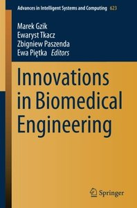 Innovations in Biomedical Engineering (Advances in Intelligent Systems and Computing)-cover