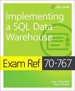 Exam Ref 70-767 Implementing a SQL Data Warehouse-cover
