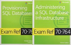 MCSA SQL 2016 Database Administration Exam Ref 2-pack: Exam Refs 70-764 and 70-765-cover