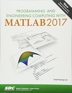 Programming and Engineering Computing with MATLAB 2017-cover