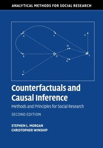 Counterfactuals and Causal Inference: Methods and Principles for Social Research (Analytical Methods for Social Research)-cover