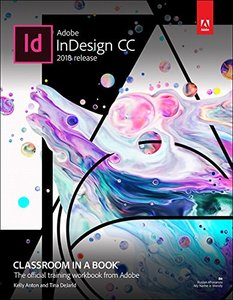 Adobe InDesign CC Classroom in a Book (2018 release)-cover
