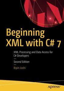 Beginning XML with C# 7: XML Processing and Data Access for C# Developers-cover