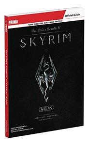 Elder Scrolls V: Skyrim Atlas: Prima Official Guide-cover