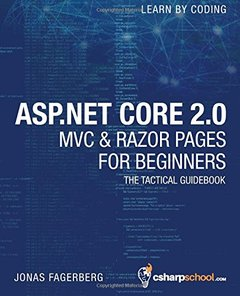 ASP.NET Core 2.0 MVC & Razor Pages for Beginners: How to Build a Website-cover