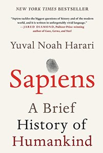 Sapiens: A Brief History of Humankind-cover